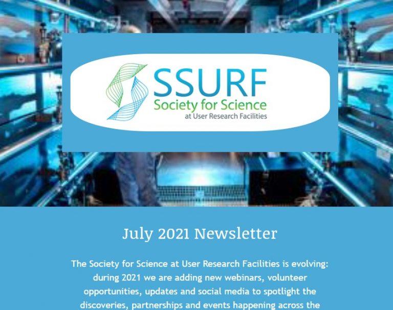 SSURF newsletter